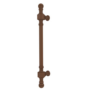 Retro Dot Collection 18 Inch Beaded Refrigerator Pull, Antique Bronze