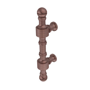 Retro Dot Collection 3 Inch Beaded Cabinet Pull, Antique Copper