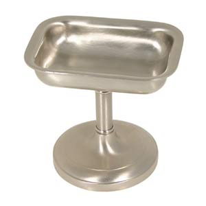 Polished Nickel Soap Dish