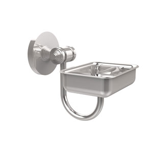 South Beach Collection Wall Mounted Soap Dish, Polished Chrome