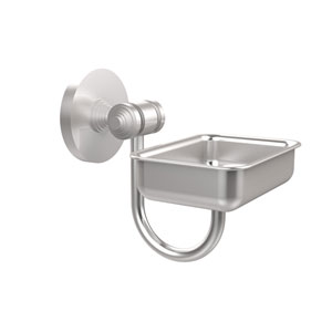 South Beach Collection Wall Mounted Soap Dish, Satin Chrome