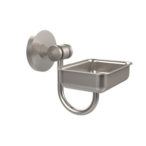 South Beach Collection Wall Mounted Soap Dish, Satin Nickel