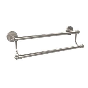 Satin Nickel 18-Inch Double Towel Bar