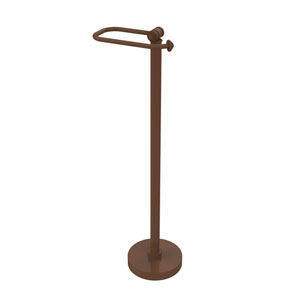 Southbeach Collection Free Standing Toilet Tissue Holder, Antique Bronze