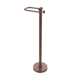 Southbeach Collection Free Standing Toilet Tissue Holder, Antique Copper