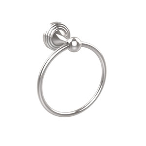 Sag Harbor Collection Towel Ring, Polished Chrome
