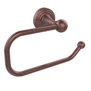 Sag Harbor Collection European Style Toilet Tissue Holder, Antique Copper