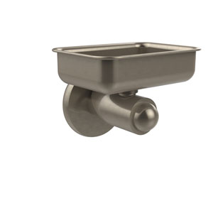 Soho Collection Wall Mounted Soap Dish, Antique Pewter