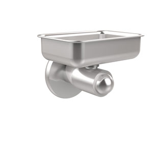 Soho Collection Wall Mounted Soap Dish, Satin Chrome