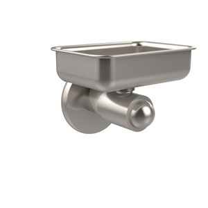 Soho Collection Wall Mounted Soap Dish, Satin Nickel