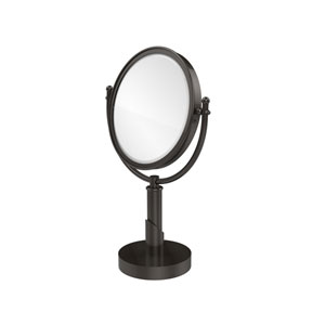 Soho Collection 8 Inch Vanity Top Make-Up Mirror 2X Magnification, Oil Rubbed Bronze