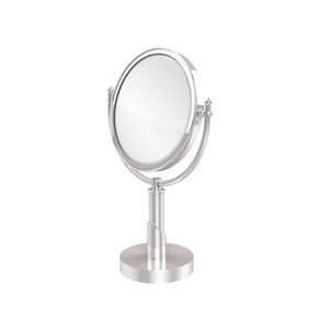 Soho Collection 8 Inch Vanity Top Make-Up Mirror 2X Magnification, Polished Chrome