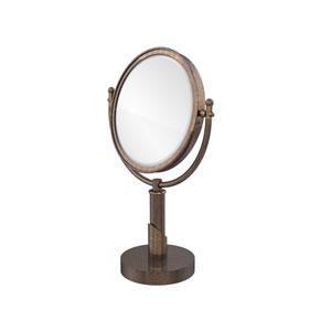 Soho Collection 8 Inch Vanity Top Make-Up Mirror 3X Magnification, Venetian Bronze