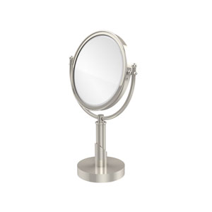 Soho Collection 8 Inch Vanity Top Make-Up Mirror 4X Magnification, Polished Nickel