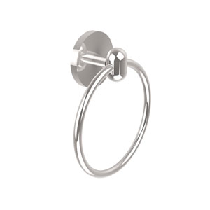 Tango Collection Towel Ring, Polished Chrome