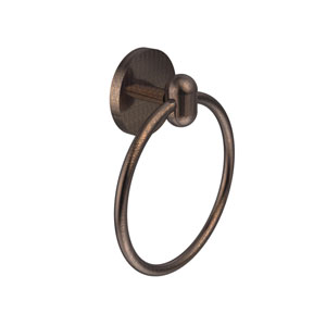 Tango Collection Towel Ring, Venetian Bronze