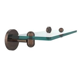 Tango Venetian Bronze 16 Inch Single Glass Shelf