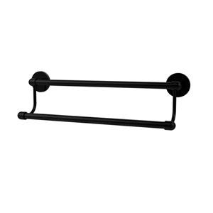 Tango Matte Black 30 Inch Double Towel Bar