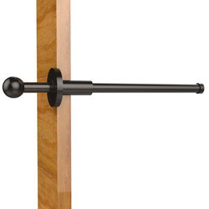 Traditional Retractable Pullout Garment Rod, Oil Rubbed Bronze