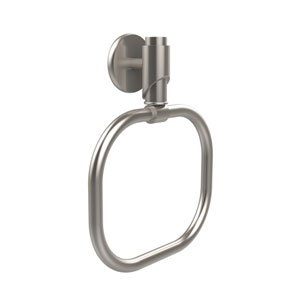 Tribecca Collection Towel Ring, Satin Nickel