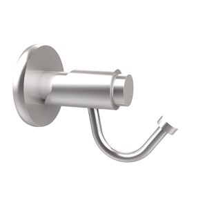 Tribecca Satin Chrome Utility Hook
