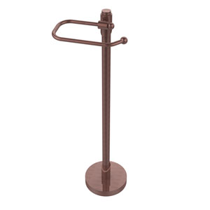 Tribecca Collection Free Standing Toilet Tissue Holder, Antique Copper