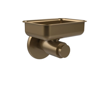 Tribecca Collection Wall Mounted Soap Dish, Brushed Bronze