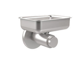 Tribecca Collection Wall Mounted Soap Dish, Satin Chrome