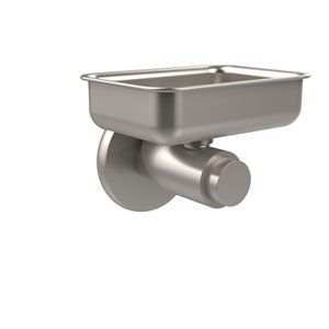 Tribecca Collection Wall Mounted Soap Dish, Satin Nickel
