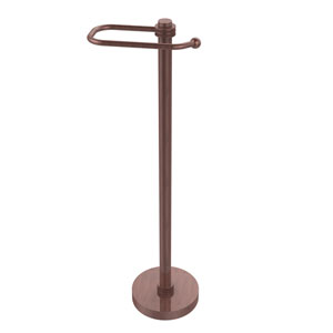 European Style Toilet Tissue Stand, Antique Copper