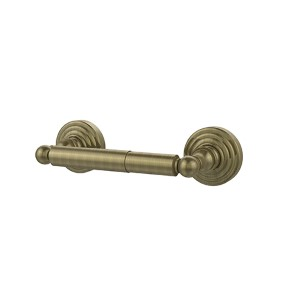 Waverly Place Antique Brass Double Post Toilet Paper Holder