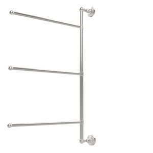 Waverly Place Collection 3 Swing Arm Vertical 28 Inch Towel Bar, Polished Chrome