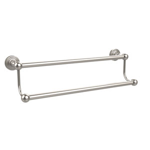 Waverly Place Collection 24 Inch Double Towel Bar, Satin Nickel