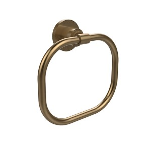 Washington Square Brushed Bronze Towel Ring