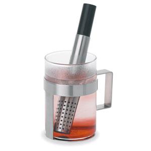 Utilo Brushed Stainless Steel Teastick
