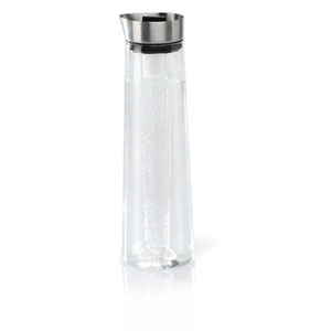 Acqua Cool Glass and Stainless Steel Cooling Carafe with Cartridge
