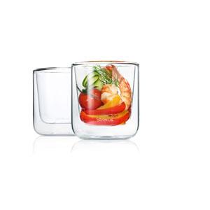 Set 2 Insulated Coffee / Tea Glasses