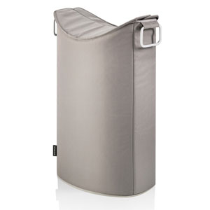 Taupe Laundry Bin