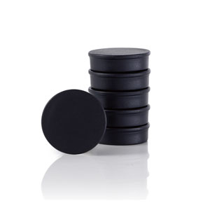 Muro Black Set of 6 Magnets