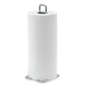 Wires Brushed Stainless Steel Paper Towel Holder - Small