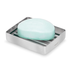 Nexio Brushed Stainless Steel Soap Dish
