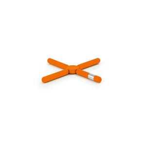 Knik Orange Trivet, Foldable