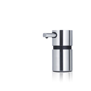 Areo Matte Stainless Steel Mini Soap Dispenser