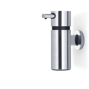 Areo Matte Stainless Steel Wall Mounted Soap Dispenser