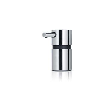 Areo Mini Polished Stainless Steel Mini Soap Dispenser