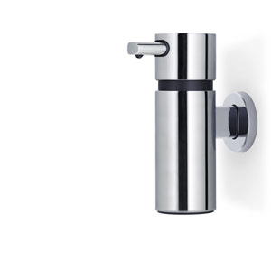 Areo Polished Stainless Steel Wall Mounted Soap Dispenser