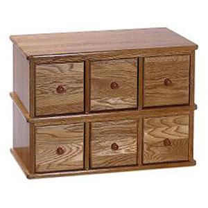 Apothecary Oak Multimedia Cabinet
