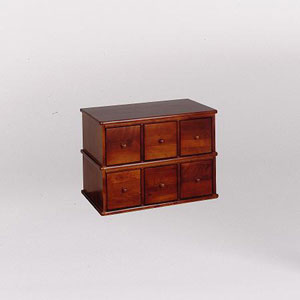 Apothecary Walnut Multimedia Cabinet