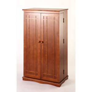 Classic Walnut Multimedia Cabinet