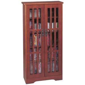 Mission Small Walnut Multimedia Cabinet